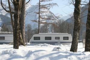 Wintercamping im Salzburg