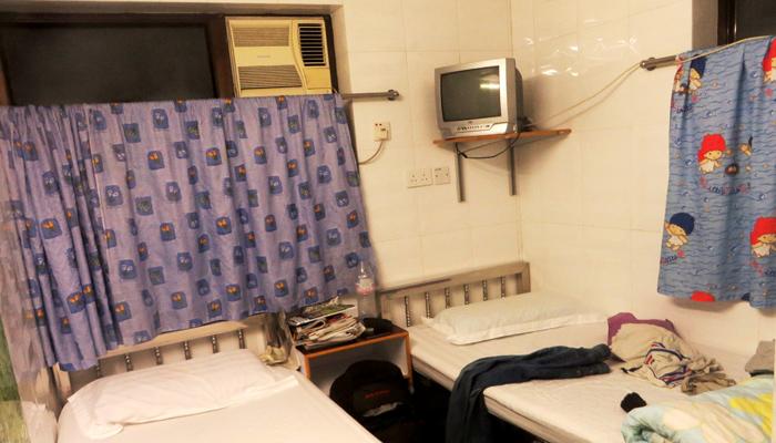 Zimmer in den Chungking Mansions, Hongkong