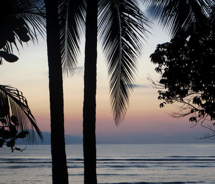 Sonnenuntergang Osa Peninsula Costa Rica