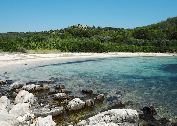 Strand auf Dugi otok