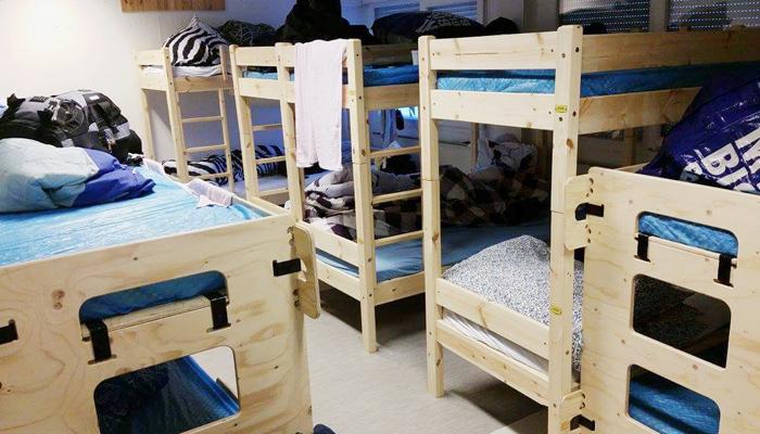 Flüchtlingscamp in der Nähe von Kirkenes, Norwegen