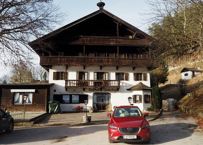 Roadtrip ins Kufsterinerland mit dem Mazda CX-3_Gasthaus Hinterdux