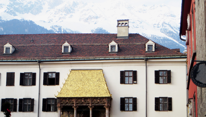 Goldenes Dachl Wahrzeichen von Innsbruck