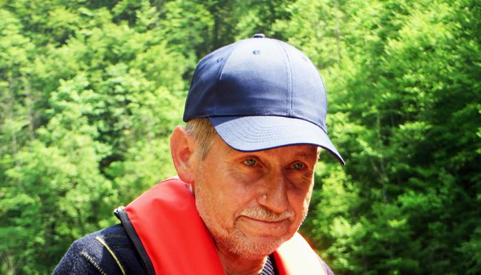 Bootsführer Sepp am Toplitzsee
