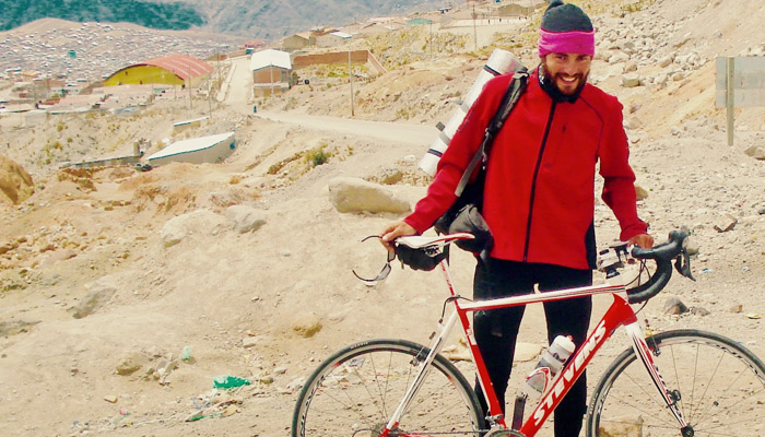 Extremsportler Helmut Pucher_Radreise