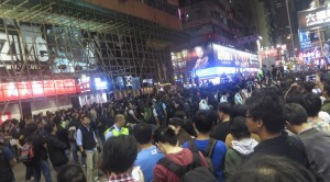 Tausende Demonstranten in Hongkong