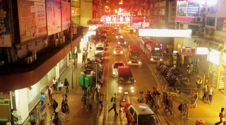 Einkaufswahnsinn in Hongkong