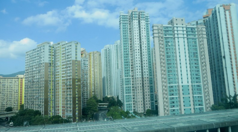 Wohnsiedlung in Hongkong