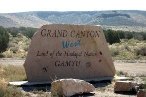 Grand Canyon West - auf der anderen Seite des Nationalparks.