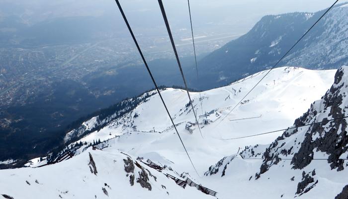 Gondel aufs Hafelekar in Innsbruck