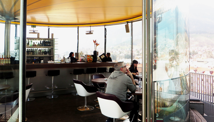 Cafe und Restaurant 360 Grad in Innsbruck