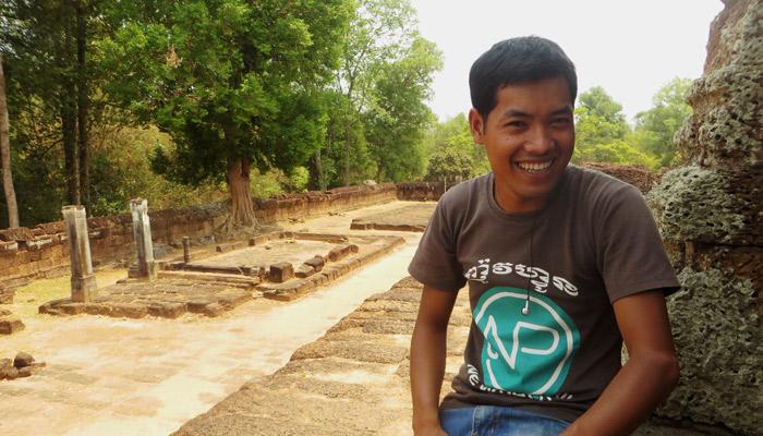 Tuk Tuk Fahrer Daral aus Siem Reap