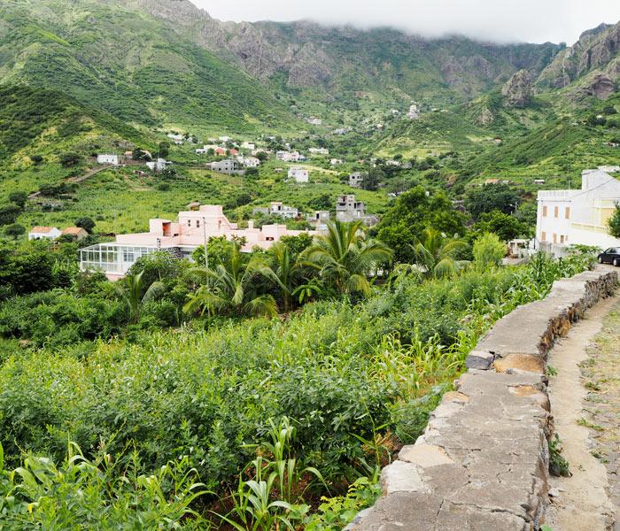 Wandern auf Sao Nicolau, Kapverden