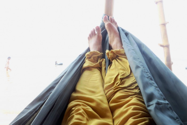 Langzeiturlaub in der Hängematte
