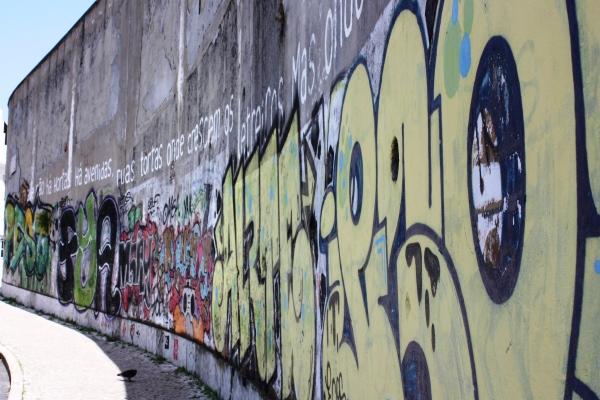 Lissabon Grafitti