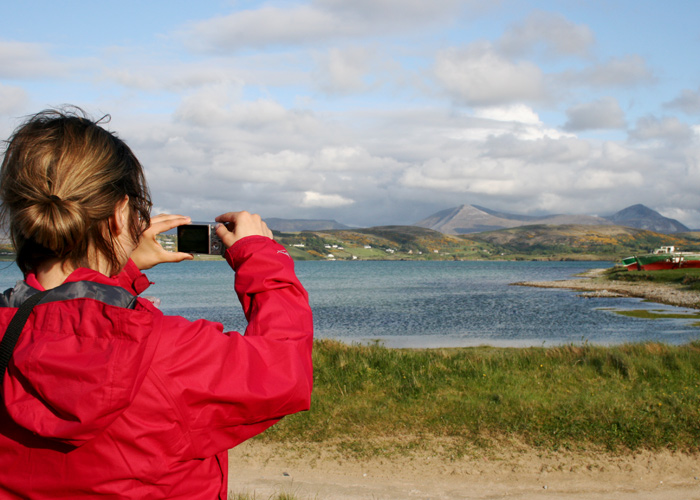 Fotostopp in Donegal, Irland