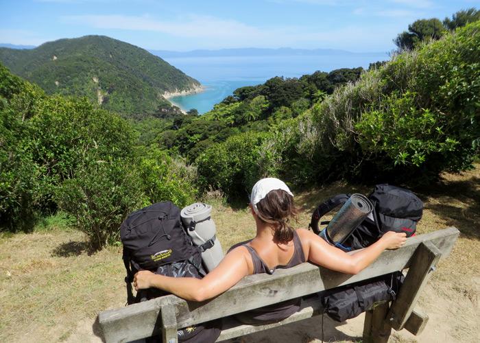 Küstenwandern in Neuseeland