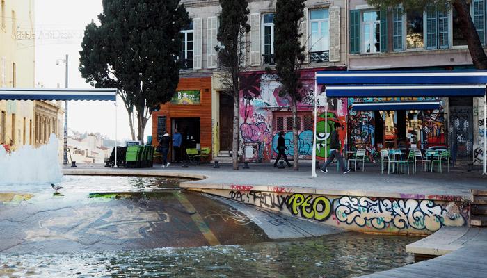 Marseille_Sehenswuerdigkeiten_Reisetipps_Alternatives Viertel Cours Julien