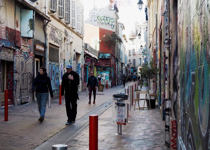 Marseille_Sehenswuerdigkeiten_Reisetipps_Viertel Cours Julien