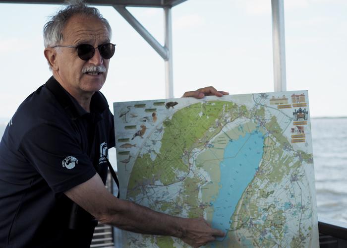 Alois Lang vom Nationalpark Neusiedler See