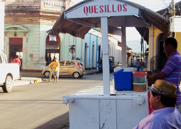 Quesillos beim Backpacking in Nicaragua