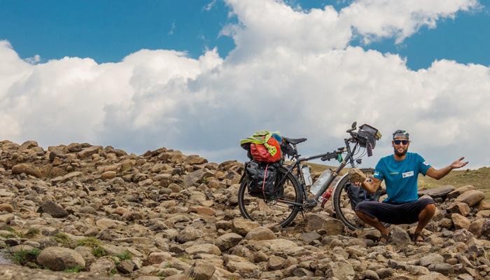 Niko Krauland - mit dem Fahrrad um die Welt