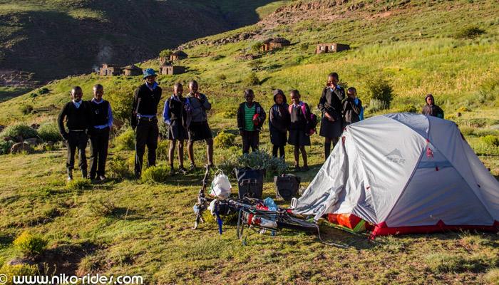 Weltreise mit dem Fahrrad - Lesotho