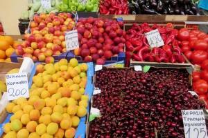 Obst am Markt von Thessaloniki