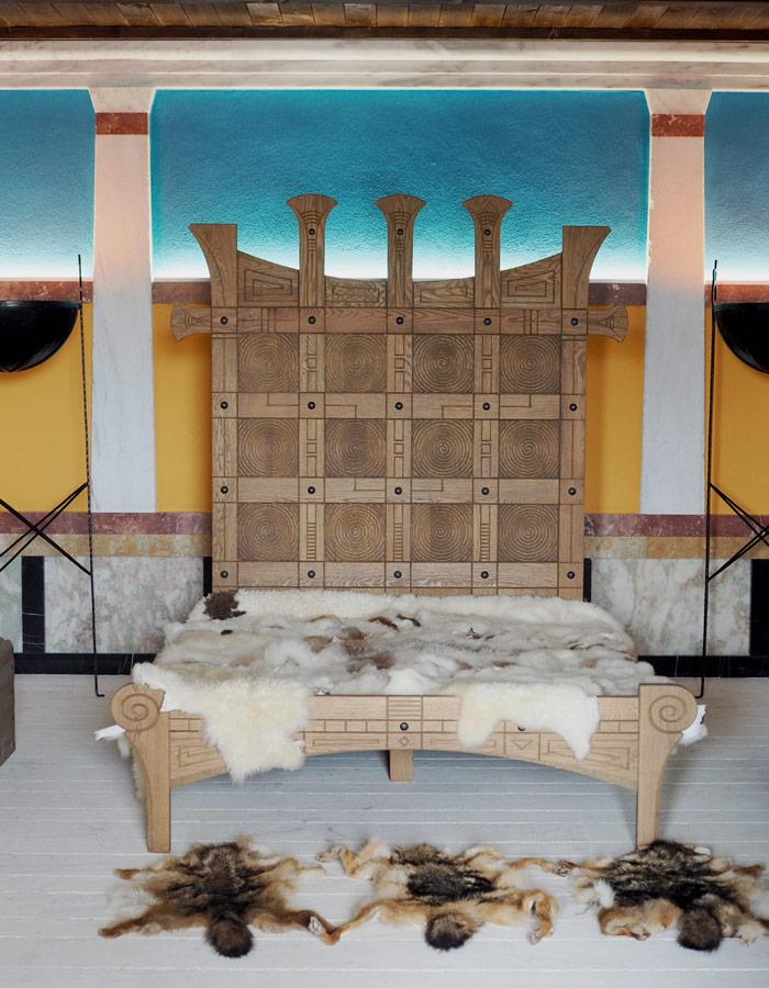 Bulgarien Geschichte_Historsicher Park_Schlafzimmer eines thrakischen Koenigs