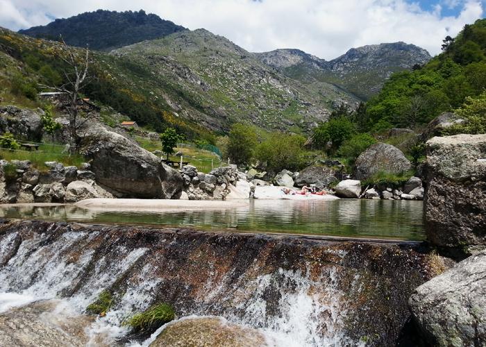 In Lorigal ist eines der schönsten Flussbäder Portugals