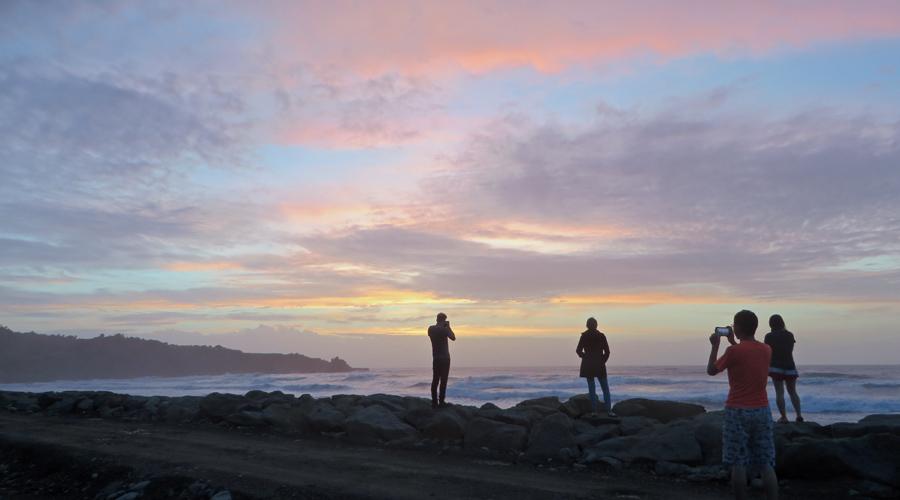 Punakaiki_Neuseeland_Sonnenuntergang