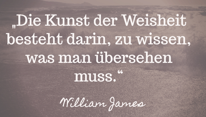 Langsam reisen reisespruch william james