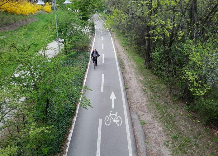 Bozen hat viele Radwege