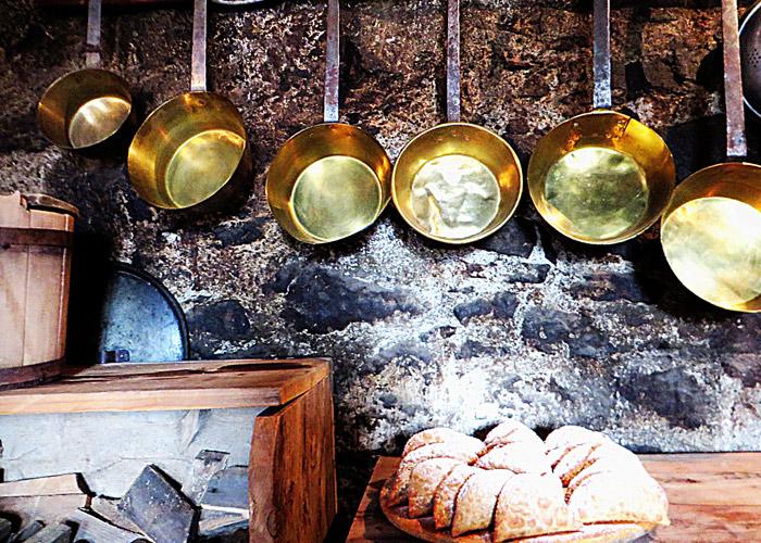 Küche im Rohrerhaus