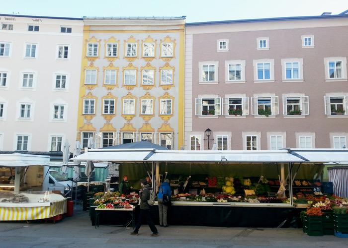 Grünmarkt Salzburg