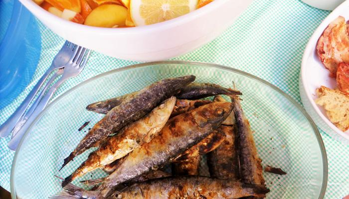 Portugiesisches Essen: Sardinen