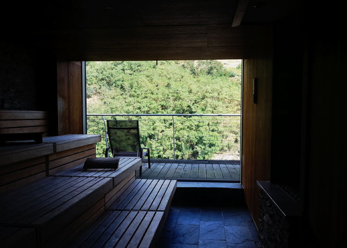 Sauna im Hotel Steigenberger Krems