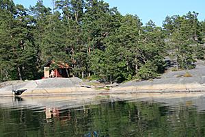 Sauna in Schweden