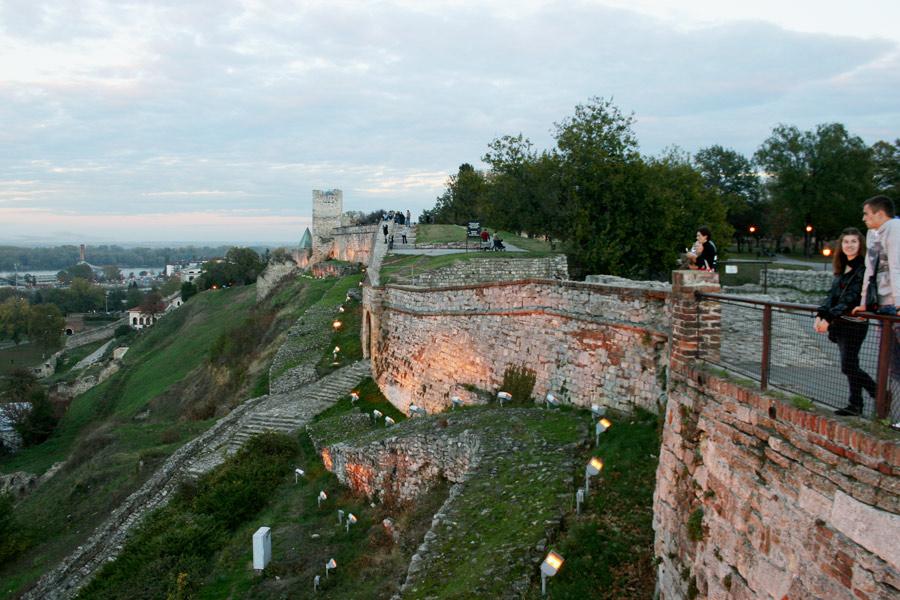 Burg Kalemegdan Belgrad
