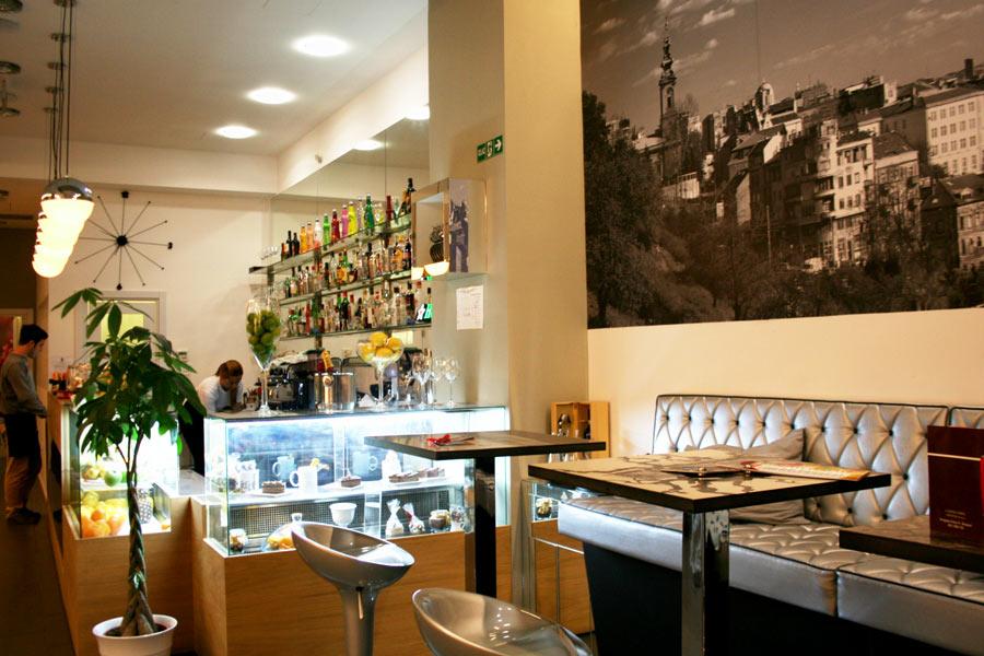Cafe in Belgrad