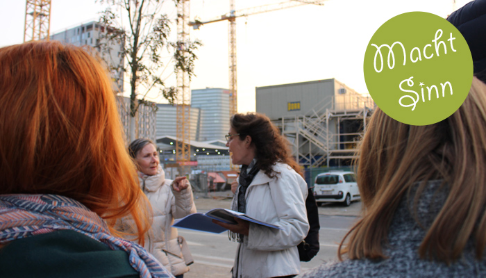 Obdachlose führen bei Tour durch Wien. Shades Tours heißt das Projekt