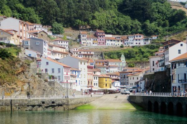 Cudillero in Asturien, Spanien