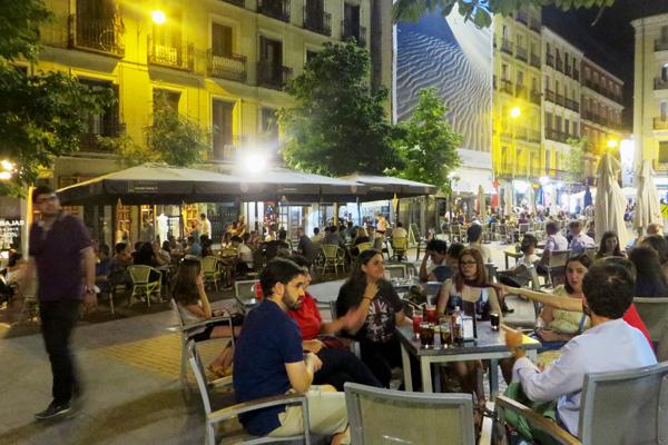 Szeneviertel Chueca in Madrid
