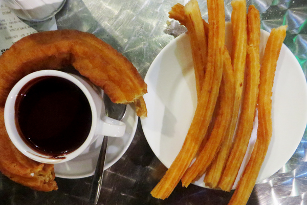 Churros in Madrid
