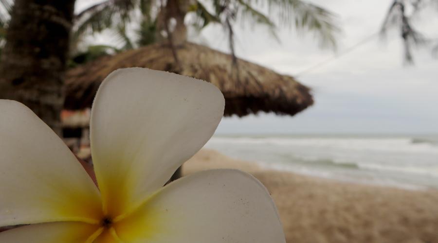 Strand nähe des Coco Homestay