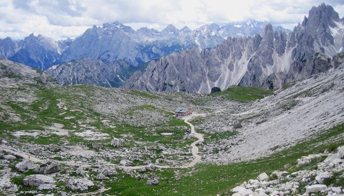 Familienurlaub mit Kindern in den Dolomiten in Südtirol_Ausblick