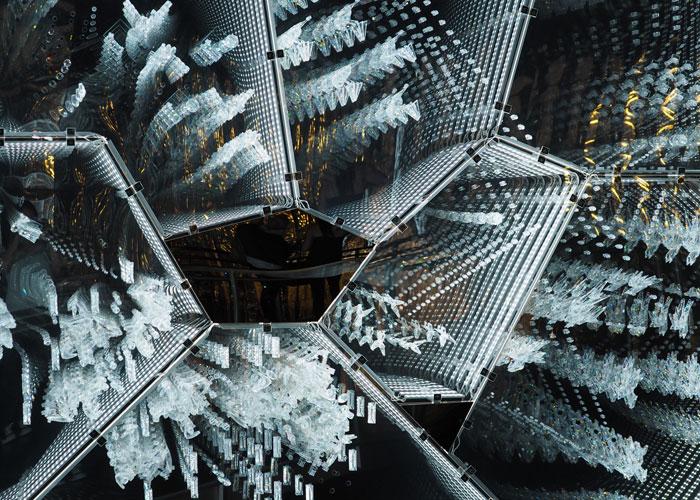Swarovski Kristallwelten Glasinstallation