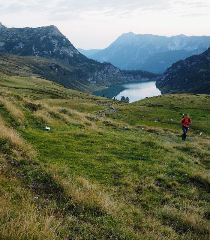 Wagrain_Kleinarl_Tappenkarsee_Morgenwanderung