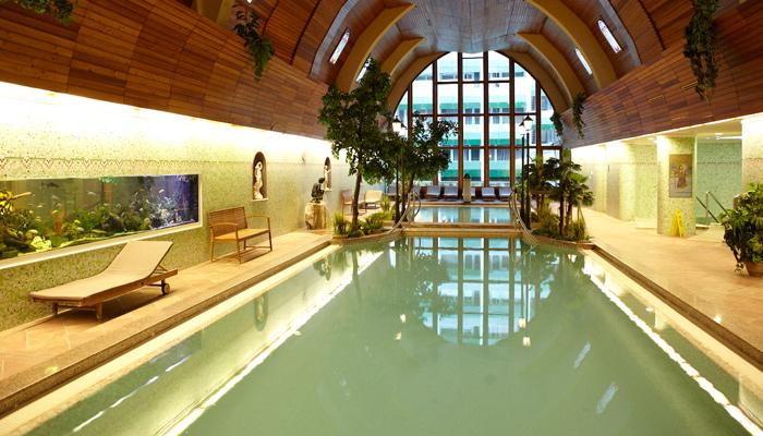 Ungarn_NaurMed Hotel Carbona****s Badelandschaft