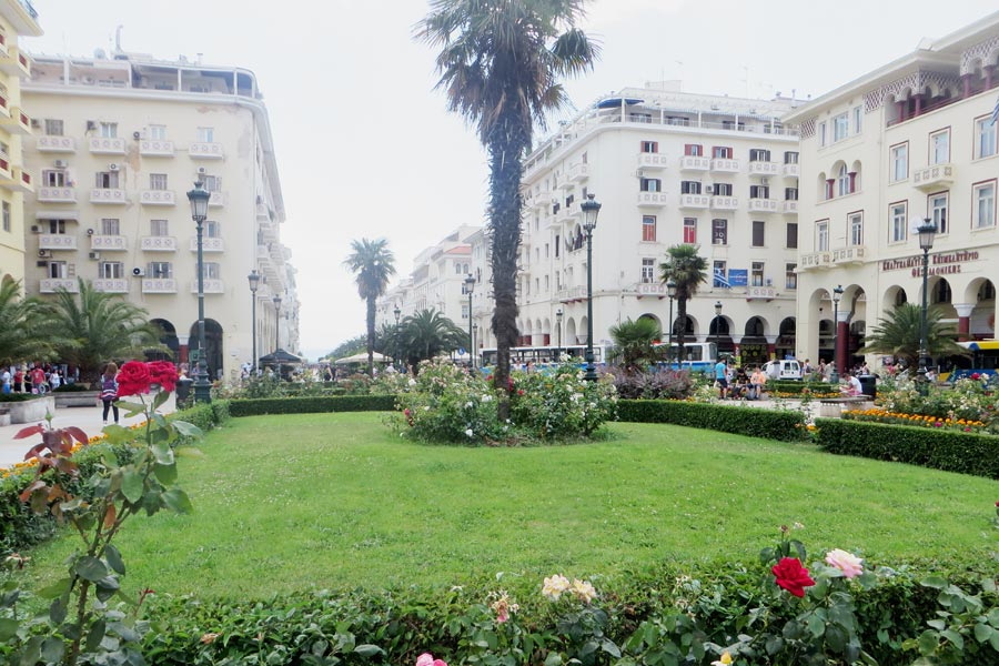 Aristotelesplatz in Thessaloniki